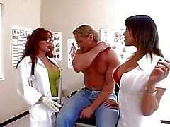 Ava and Vanessa are sexy doctors