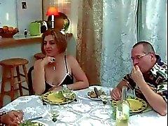 Francés Trio , métisse , de papy
