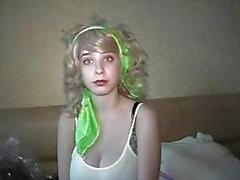 Julia blondes Krankenschwester