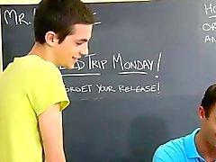 18 inç ve ile Eşcinsel Etiketi bedava Güzel bir öğretmen Cameron Kincade ge