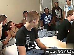 Homosexuell Film Wenn von Devon hörte ein Bukkake Jungen Video wurde dass pro