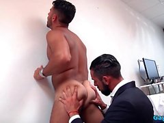 Big Dick Gay Flip Flop med cumshot