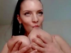 Amazing big tits cam girl Lana Ivans