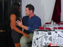 DP estrelas 3 - Ebony Big Tit Jenna Foxx Deep Throat Boquete
