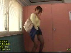 Stunning Japanese Siren Is shafting Through Her nylon