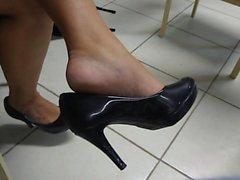 Rehellisesti tattoo jalkaa korkokengät shoeplay roikkui UNIVE