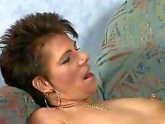 Sexy MILF Drinks Piss