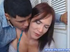 Guy Can not Get Enough de sa petite amie Travesti