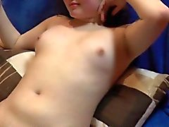 Licking and facial for cute chubby teen
