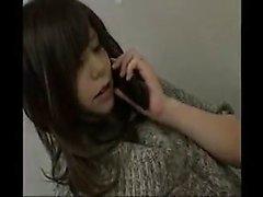 Houkuttelevan Japanilaiset vaimoa kutsuu kaverin tyydyttämiseksi hän sexua