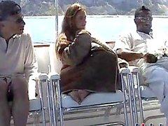 Nevaeh Ashton banged on a yacht