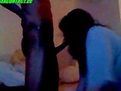 Pakistan Muslim Girl se de 8 cm Big Black Dick Madrasi à de came