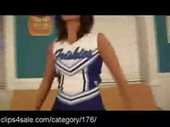 The Hottest Cheerleaders - Clips4sale