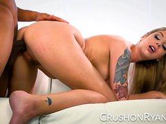 CrushGirls - Ryan se disculpa por chupar su gran polla negro