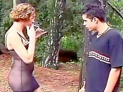 Chaud Rafeala BUCKMAN En baise Outdoor et de TS Bouffe de Cul