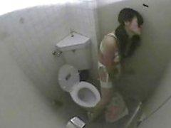 Public Toilet Girls Masturbatie