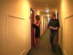 Franska paret på ett hotell