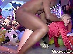 Il glam HoChi scopa il della BBC a bagno d'