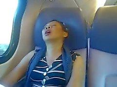 Les pieds Ebony au trains Hollandais