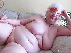 OmaGeiL Fatty Horny Granny Imágenes Compilación
