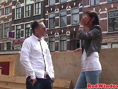 В Индийском Hooker doggystyled по Голландией