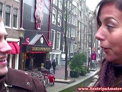 Реал блондинка голландская проститутка получит oralsex