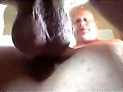 Quente POV-estilo da banda do caralho vaginal inchado