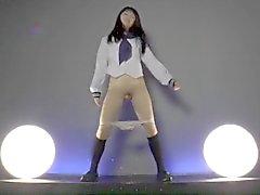 asian schoolgirl dance