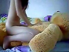 De l'étudiante Promenades un ours en peluche