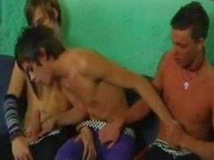 Emo Boys Threesome