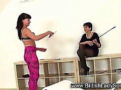 Brit is mature femdom