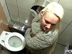 PORNXN Mature Blonde Public Pissing