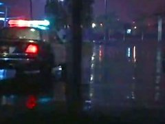 Hot Blonde Cop шоу Видео Harrases Девушка