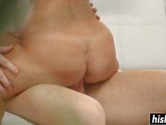 Kinky Анджелина нужен длинный толстый член