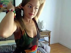 Amateur krystalorchid blinken Arsch auf Live-Webcam