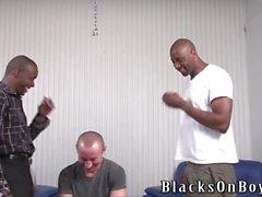 garçon polonais Amusant se enculer des hommes black