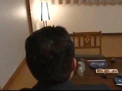 Rie Katano Hairy japanischen Milf Pussy gebohrt und creampied