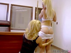 Aaliyah Love, Violet Trying Threesome Fun