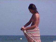 Alasti rannalla Seksikkäät babet Sitomisleikit Spy nokan HD Tirkistelijät Videon