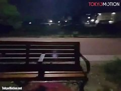 Japanese BigTits Caught Public Naked & Orgasm Night At City Park Live Chat