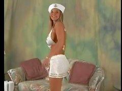 traje de marinero Christina tetas hinchables