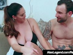 Tettona Alison Tyler Ditches Dorky Date to Fuck Alex Legend!
