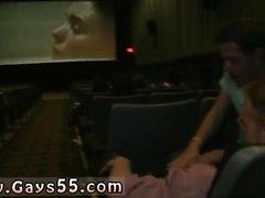 Películas porno gay porno en el cine