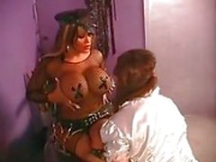 Big titted ts dominates a sissy Part 1