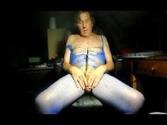 bodystocking urétral sondage travesti lingerie 14