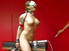 Extreme Bondage Babe Tortured By...