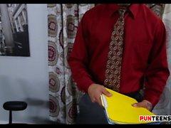 секретарь кудрявый для подростков в офисе