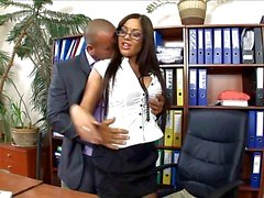 Çorap ve topuklu becerdin ofis sekreter