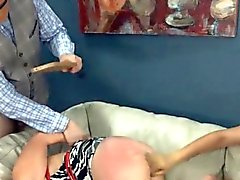hot dildo anal sex with rope BDSM teacher