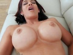 Mom helps with problem and shy milf casting first time